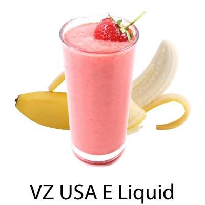 VZ USA Strawberry Banana Smoothie E-Liquid