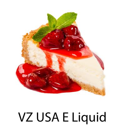 VZ USA Strawberry Cheesecake E-Liquid