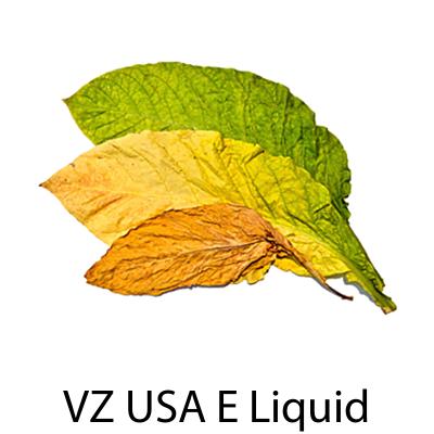 VZ USA Virginia Flue Cured Tobacco E-Liquid