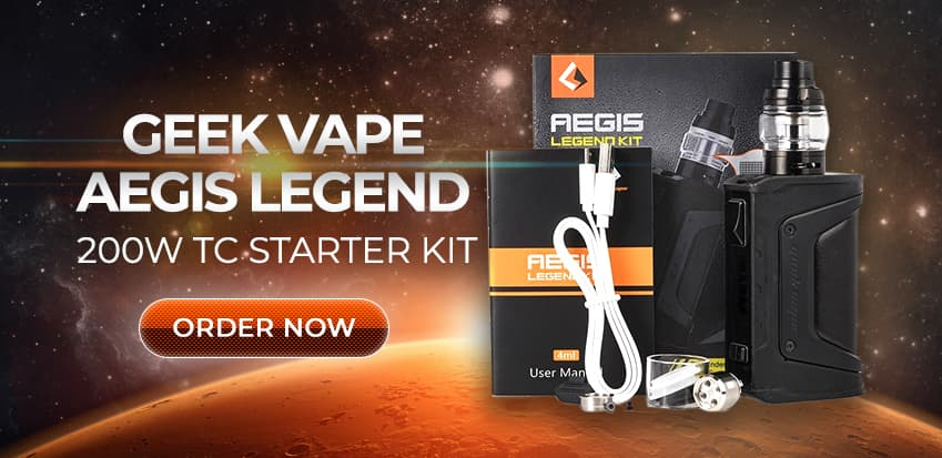 Geek Vape Aegis Legend 200W TC Starter Kit