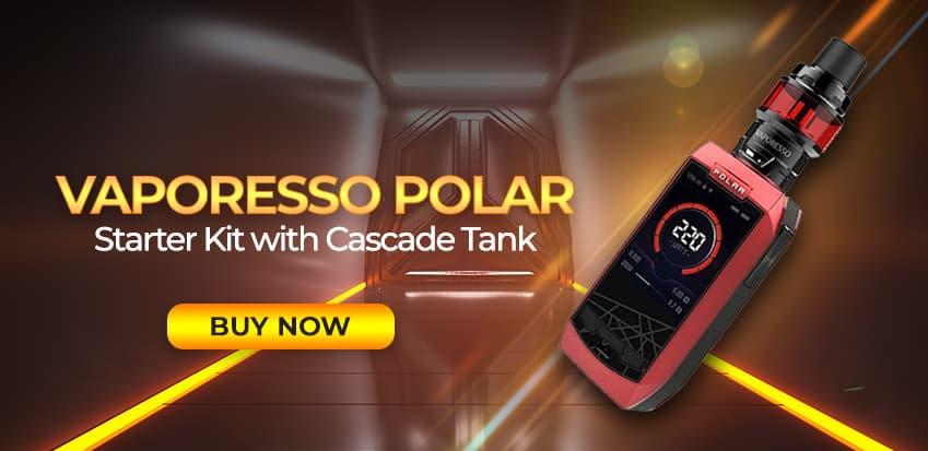 Vaporesso Polar 220W TC Mod Starter Kit With Cascade Baby SE Tank