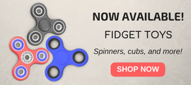 VZ FIDGET SPINNERS AND CUBES